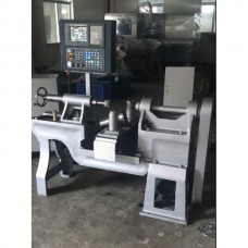 Давильно-раскатной станок с ЧПУ D-400 CNC для ротационной вытяжки металла